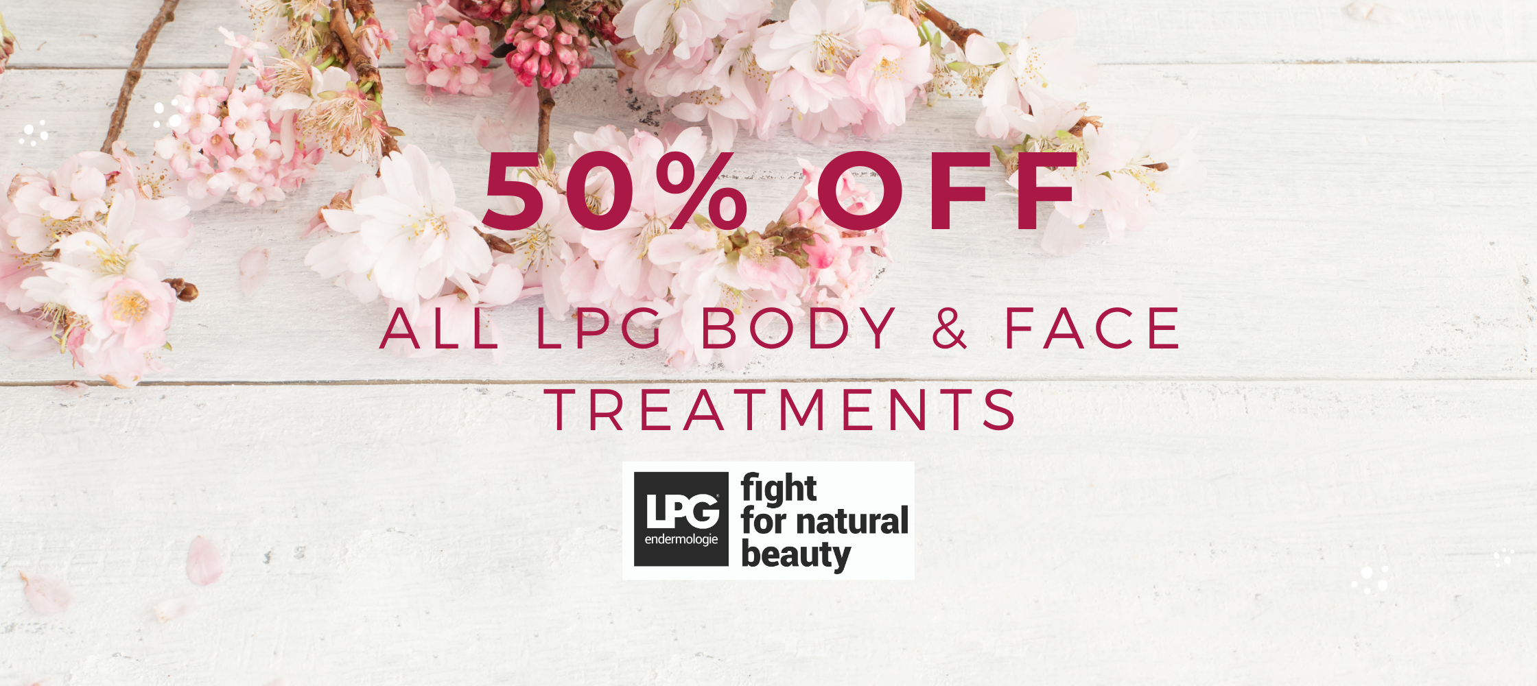 welcome spring offer LPG